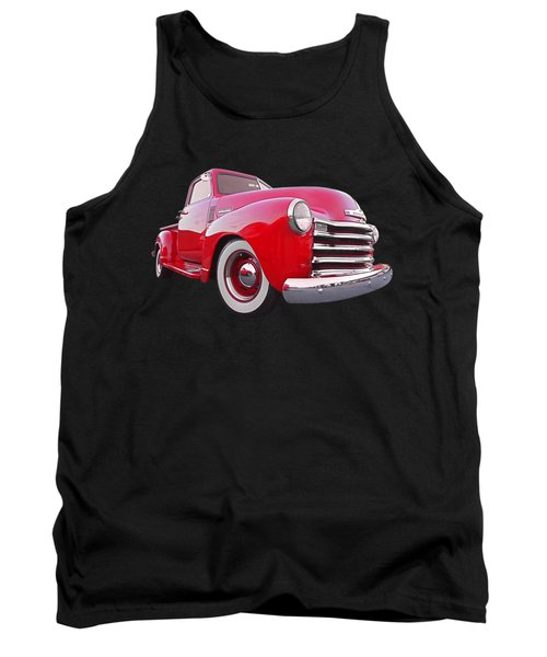 1950 Chevy Pick Up At Sunset Tank Top by Gill Billington