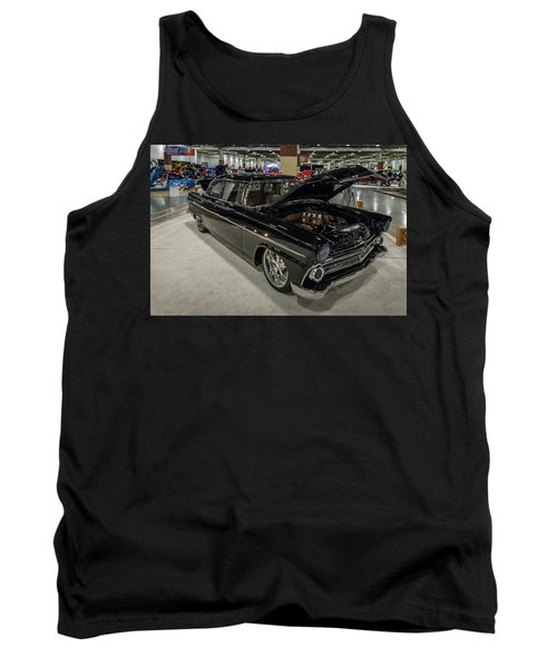 Tank Top featuring the photograph 1955 Ford Customline by Randy Scherkenbach