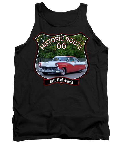 1956 Ford Victoria Russell 1 Tank Top