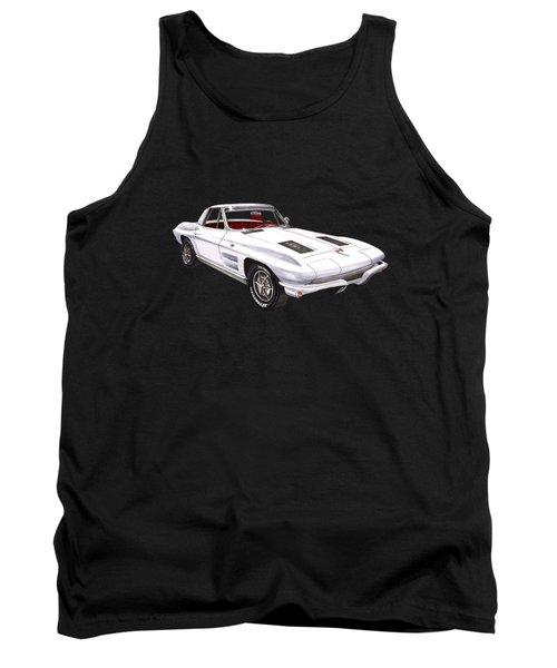 Corvette Sting Ray 1963 Tank Top