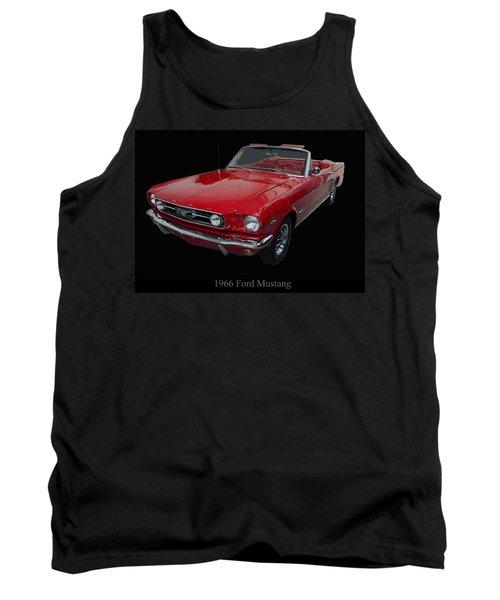 1966 Ford Mustang Convertible Tank Top
