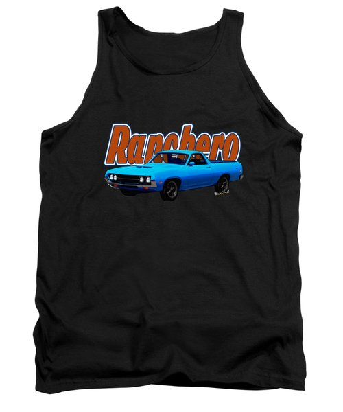 1970 Ranchero Dominican Beach Sunrise Tank Top