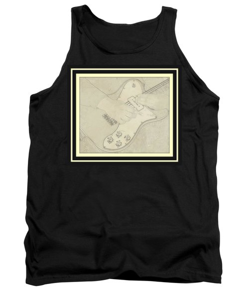 Tank Top featuring the photograph 1972 Fender Telecaster Custom by Chris Berry