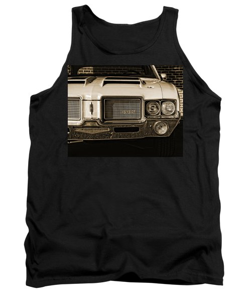 1972 Olds 442 - Sepia Tank Top