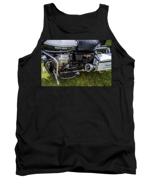 1976 Motto Guzzi V1000 Convert Tank Top by Roger Mullenhour
