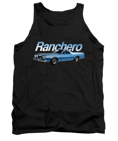 1979 Ranchero Gt 7th Generation 1977-1979 Tank Top