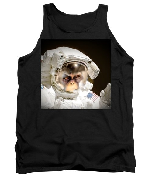 1st Into Space  Tank Top by Scott French