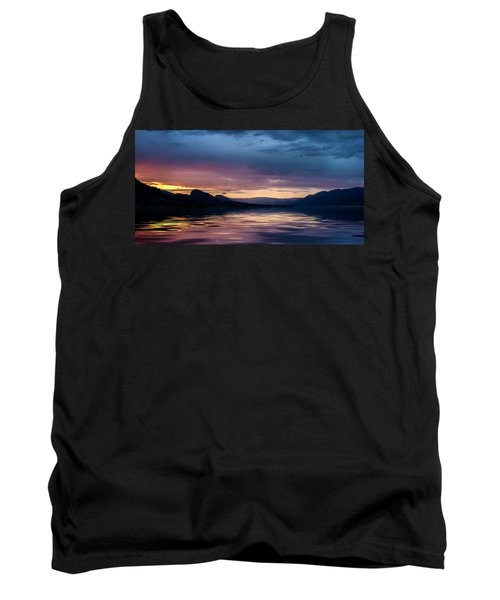 Across The Clouds I See My Shadow Fly Tank Top