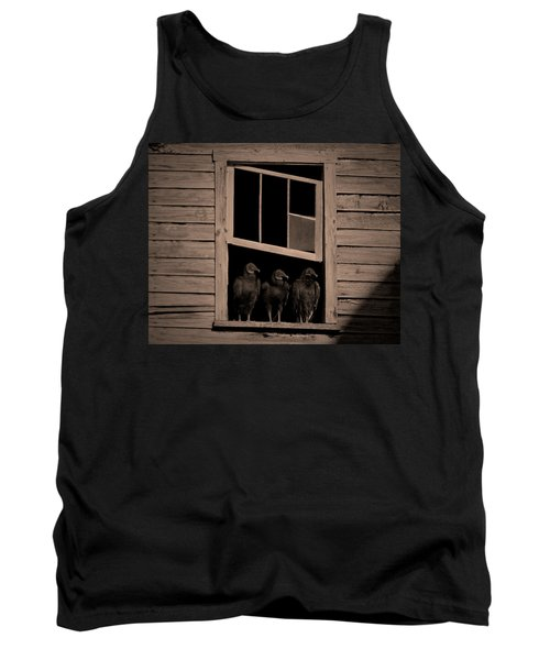 Almost Paneless Tank Top by Robert Geary