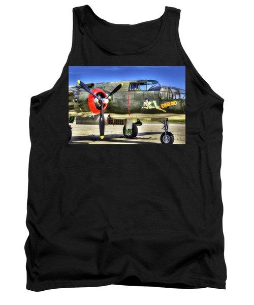 B-25  Tank Top by Joe  Palermo