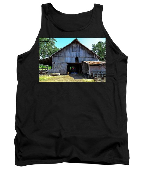 Barns In Pacific Northwest Tank Top