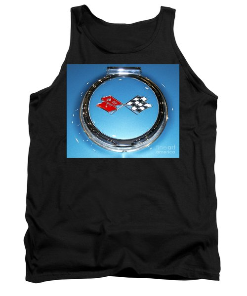 Chevy Corvette Tank Top by Pamela Walrath