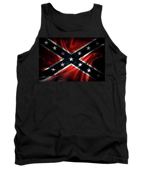 Confederate Flag 19 Tank Top