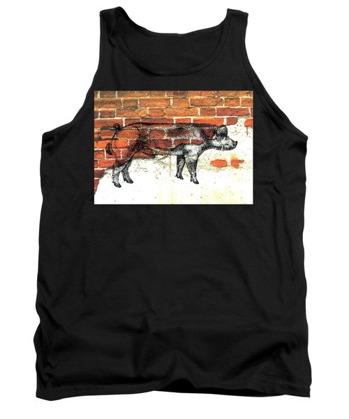 Danish Duroc Boar Tank Top by Larry Campbell
