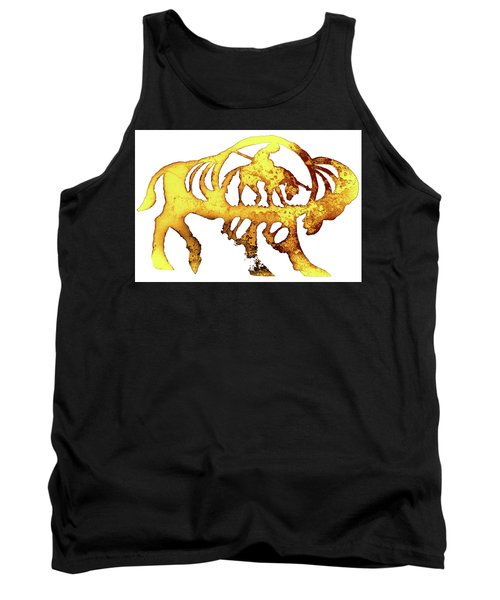 End Of The Trail Tank Top by Larry Campbell