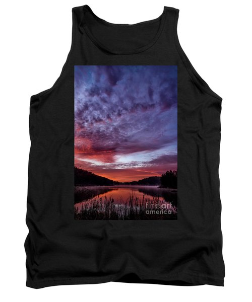 First Light On The Lake Tank Top by Thomas R Fletcher