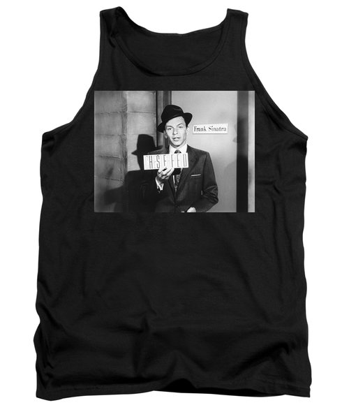 Frank Sinatra Tank Top by Underwood Archives