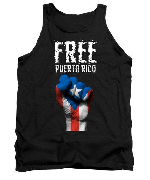 Free Puerto Rico Tank Top