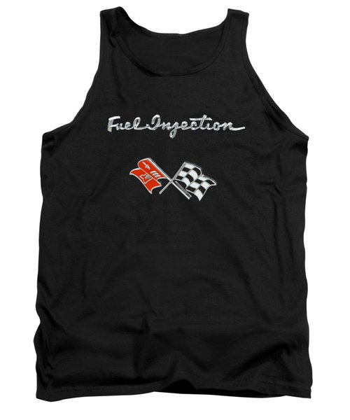 Fuel Injection Tank Top by Dennis Hedberg