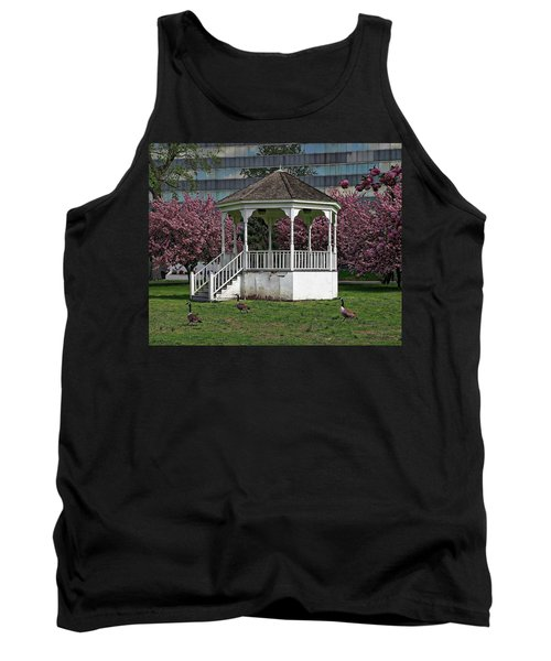 Gazebo In The Park Tank Top