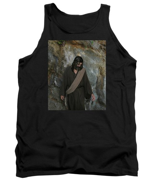 Jesus Christ- Rise And Walk With Me  Tank Top