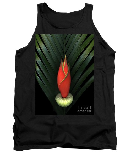 Palm Of Fire Tank Top by Christian Slanec