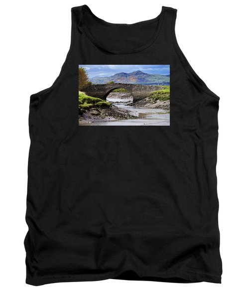 Tank Top featuring the photograph Scottish Scenery by Jeremy Lavender Photography