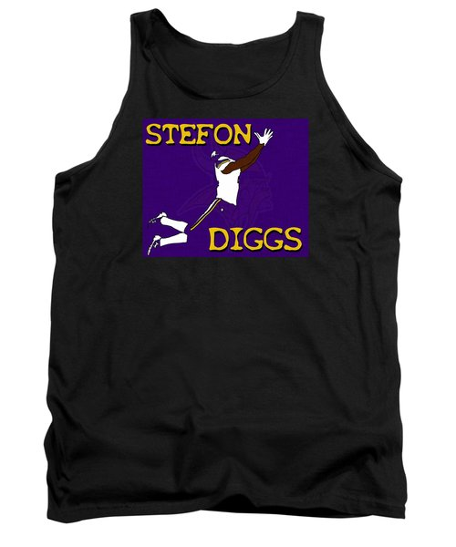 Stefon Diggs Tank Top by Kyle West