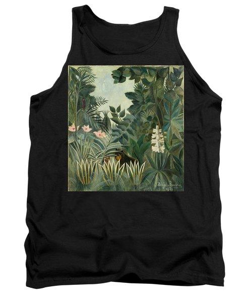 The Equatorial Jungle Tank Top