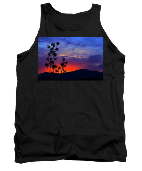 Wasatch Sunrise Tank Top by Paul Marto