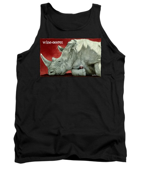 Wine-oceros Tank Top