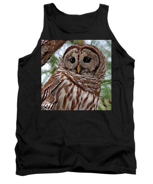 Barred Owl Tank Top
