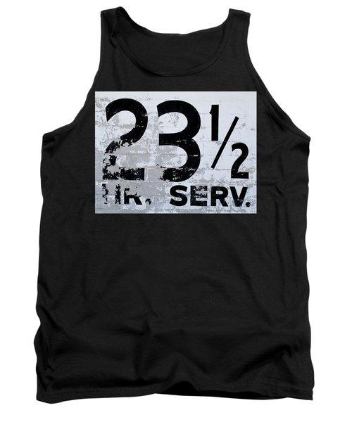 23 1/2 Hour Service Tank Top