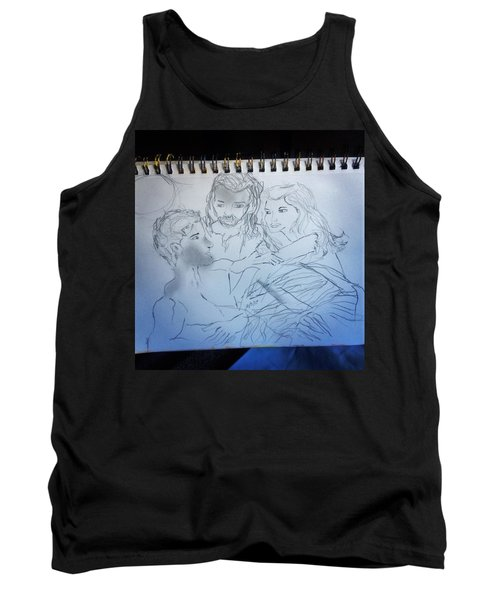 Adam Andeve The Creation Story Tank Top