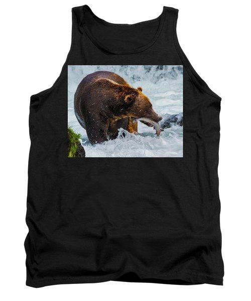 Alaska Brown Bear Tank Top