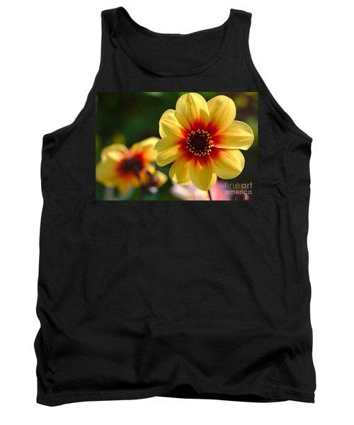 Autumn Flowers Tank Top