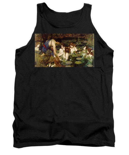 Hylas And The Nymphs Tank Top