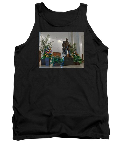 Tank Top featuring the photograph Milton Hershey And The Boy by Mark Dodd