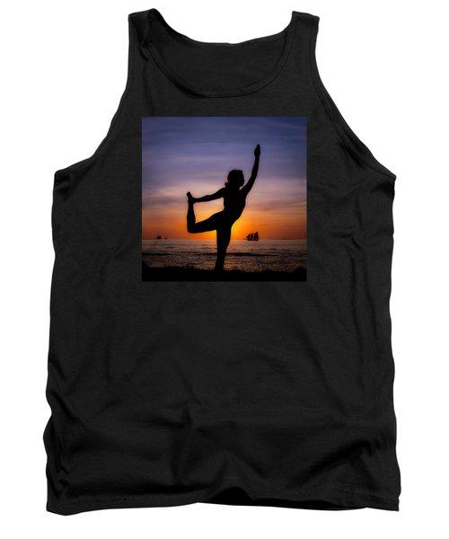Sunset Yoga Tank Top by Scott Meyer