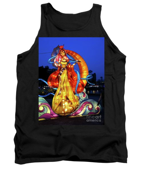 The 2017 Lantern Festival In Taiwan Tank Top