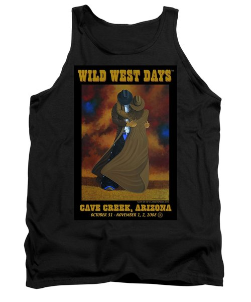 Wild West Days Poster/print  Tank Top by Lance Headlee