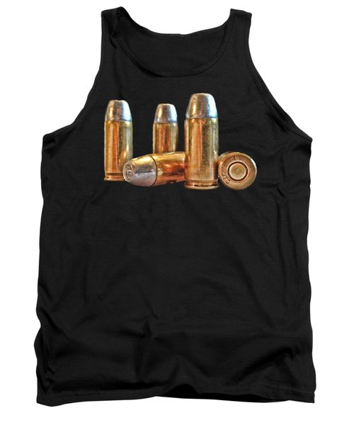 32 Caliber Bullet Print Tank Top