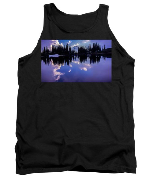 35mm Scan Of Image Lake And Glacier Peak Tank Top