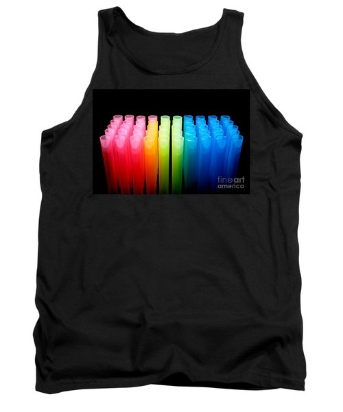 Laboratory Test Tubes In Science Research Lab Tank Top