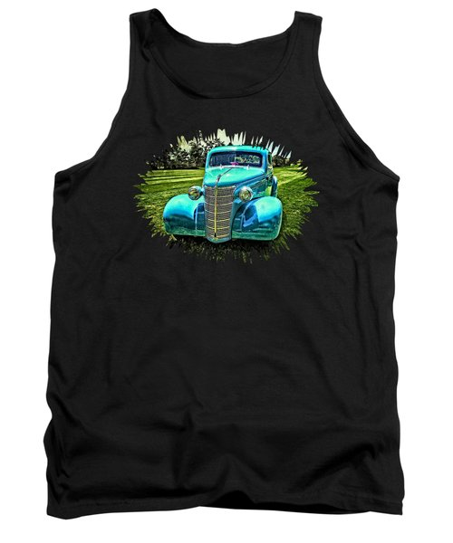 38 Chevrolet Classic Automobile Tank Top