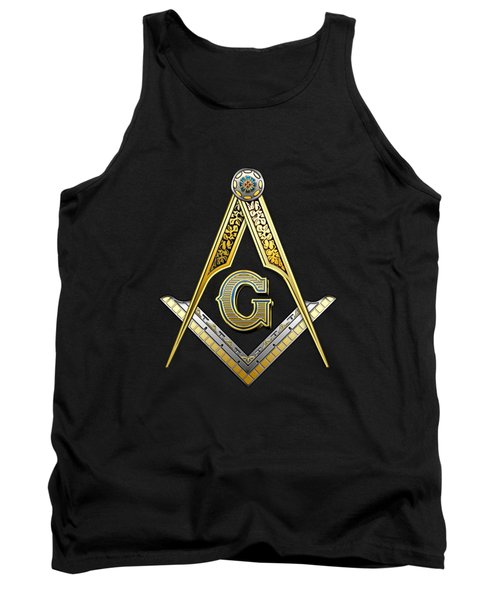3rd Degree Mason - Master Mason Masonic Jewel  Tank Top