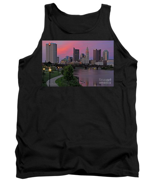 D2l37 Columbus Ohio Skyline Photo Tank Top
