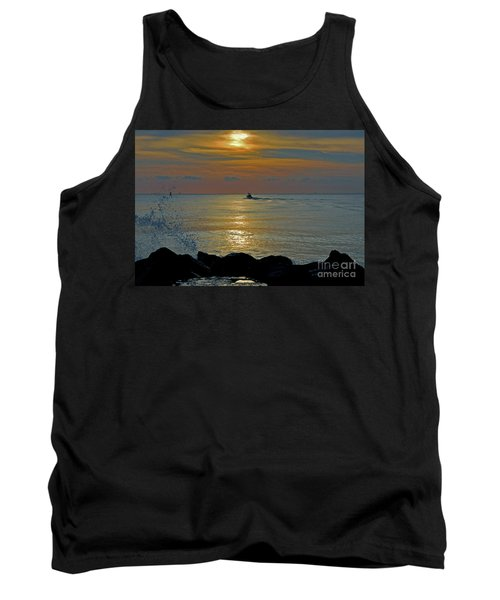 Tank Top featuring the photograph 4- Into The Day by Joseph Keane