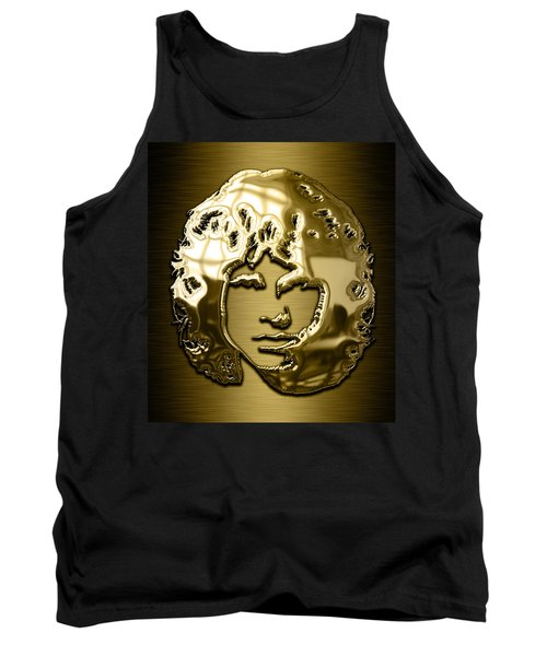 Jim Morrison The Doors Collection Tank Top by Marvin Blaine