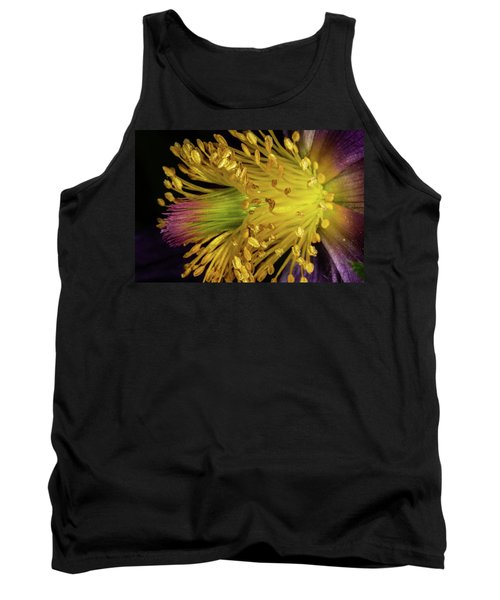 Purple And Yellow Tank Top